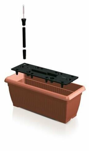 BALKONIJA 60 cm škatla + namakalni sistem
