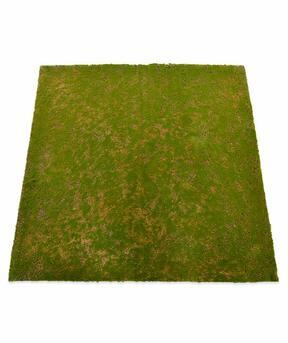 Podloga iz umetnega maha 100 x 100 cm - zelena