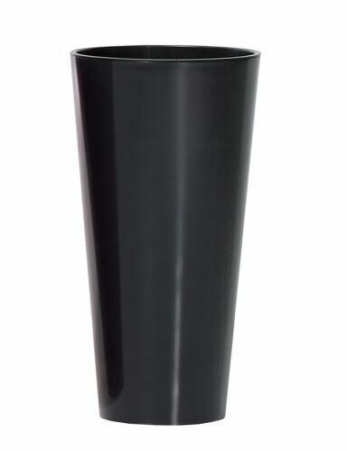 TUBUS SLIM cvetlični lonček + antracitni sijaj 20 cm