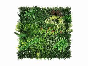 Umetna cvetlična plošča Mix - 100x100 cm