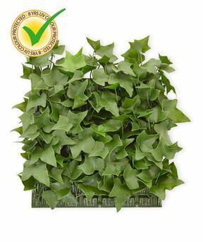 Umetna listna plošča Ivy - 25x25cm