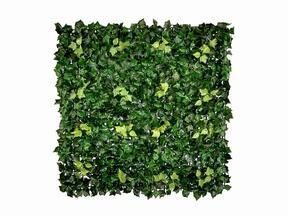 Umetna listna plošča Ivy - 50x50 cm