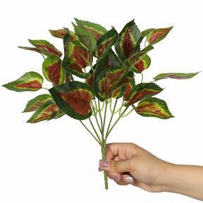 Umetna rastlina bazilika rdeča 25 cm