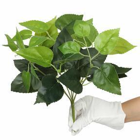 Umetna rastlina bazilika zelena 25 cm