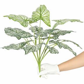 Umetna rastlina Calladium dvobarvna 50 cm