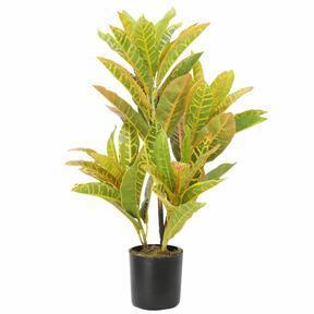 Umetna rastlina Croton-lisasta 55 cm