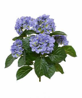 Umetna rastlina Hortenzija modra 40 cm