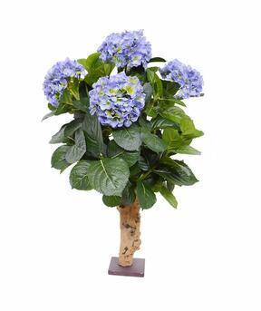 Umetna rastlina Hortenzija modra 65 cm