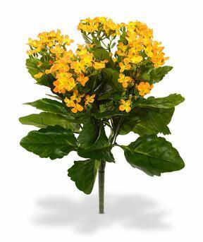 Umetna rastlina Kalanchoa oranžna 30 cm