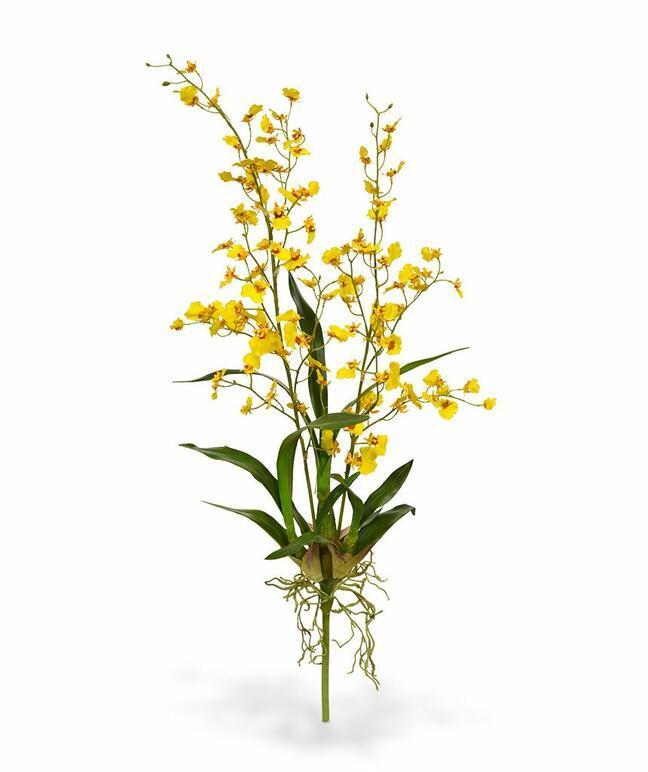 Umetna rastlina Orchidea Oncídium 80 cm