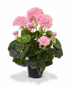 Umetna rastlina Pakost roza 40 cm