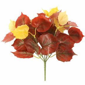Umetna rastlina Pavinič rdeča 25 cm