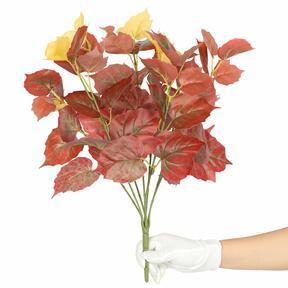 Umetna rastlina Pavinič rdeča 45 cm