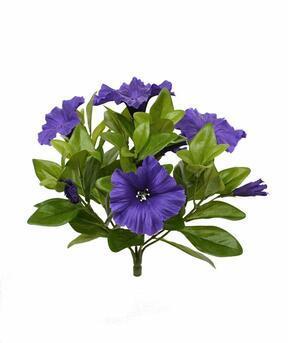 Umetna rastlina Petunia vijolična 25 cm