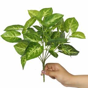 Umetna rastlina Taro Araceae 25 cm
