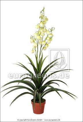 Umetna rastlina Yucca lepa 125 cm