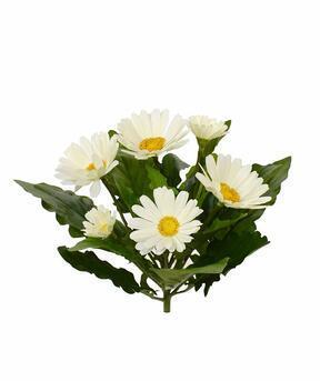 Umetna rastlinska krema Gerbera 30 cm