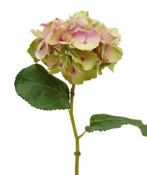 Umetna rožna hortenzija roza 45 cm