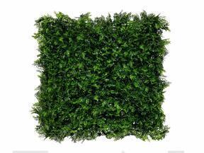 Umetna temno zelena listopadna plošča Fern - 50x50 cm