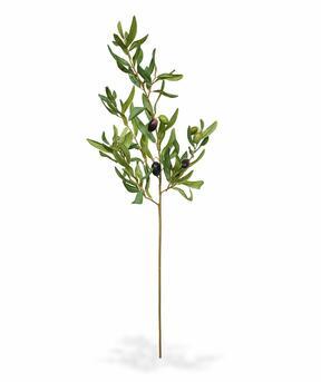 Umetna veja Oljka z oljkami 85 cm