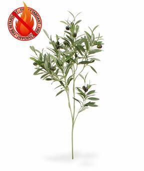 Umetna veja Oljka z oljkami 90 cm