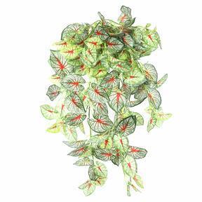Umetna vitica Calladium obarvana 80 cm