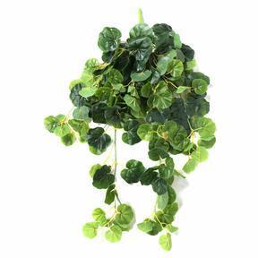 Umetna vitica Geranium zelena 80 cm