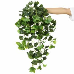 Umetna vitica Ginko zelena 80 cm