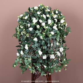 Umetna vitica Rose bela 70 cm