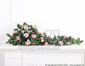Umetna vitica Rose pink 70 cm