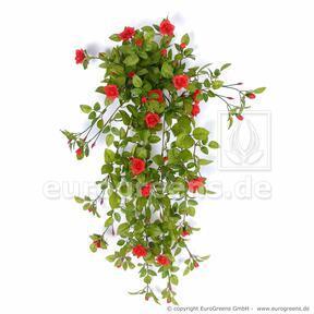 Umetna vitica Rose red 85 cm