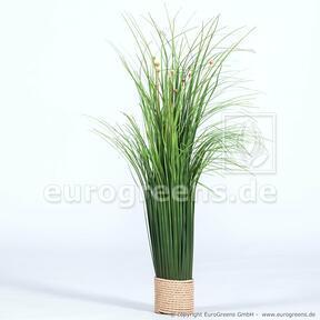 Umetni cvetoči snop trave 55 cm