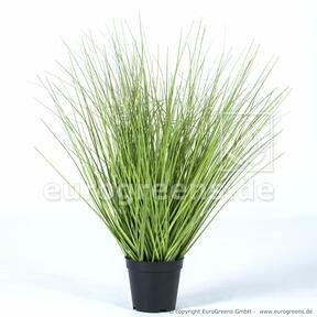 Umetni snop trave v cvetličnem loncu 65 cm