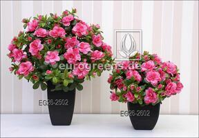 Umetni šopek belgijska Azalea roza 40 cm