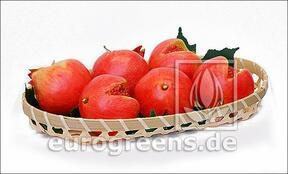 Umetno rdeče granatno jabolko